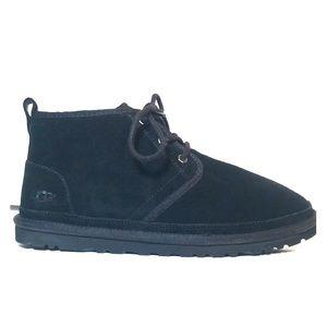 NEW UGG Men's Grey Neumel Shearling Chukka Boots 9